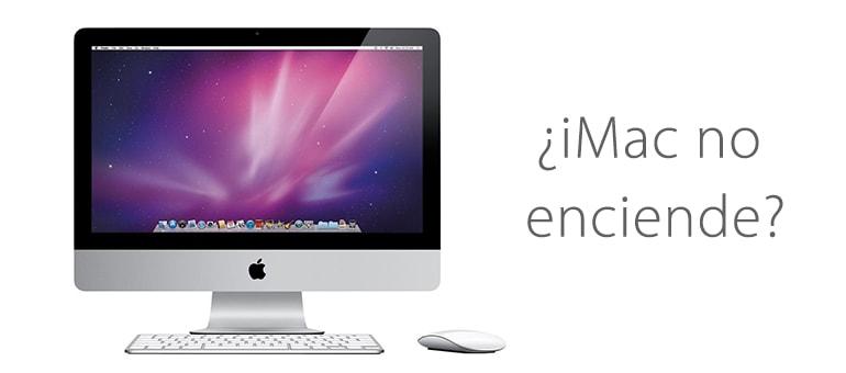 iMac no funciona o no se enciende, ¿Se puede reparar?