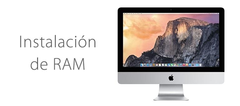 Ampliar la memoria RAM de iMac en Madrid