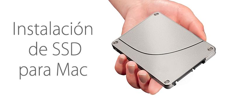 Instalación SSD para mejorar el rendimiento de tu Mac