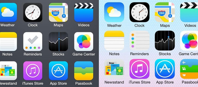 IOS 7: color y dinamismo en tu iPhone
