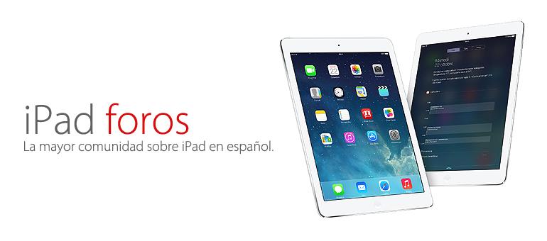 iFixrapid colabora con iPad foros