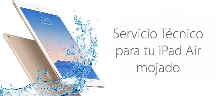 Reparar iPad mojado en Servicio Técnico