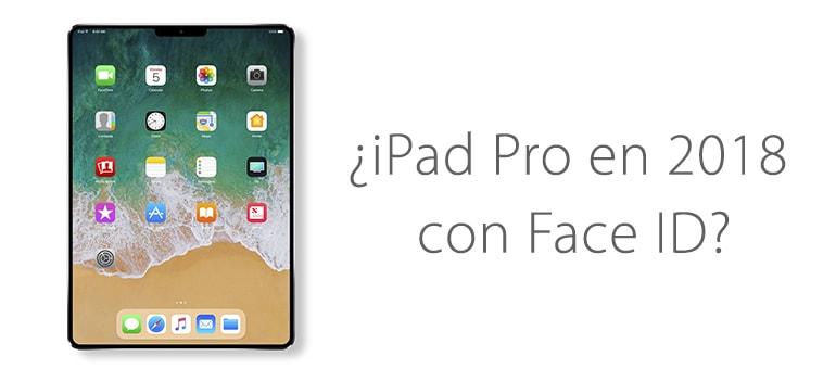 Apple podría estar preparando un iPad Pro similar a iPhone X