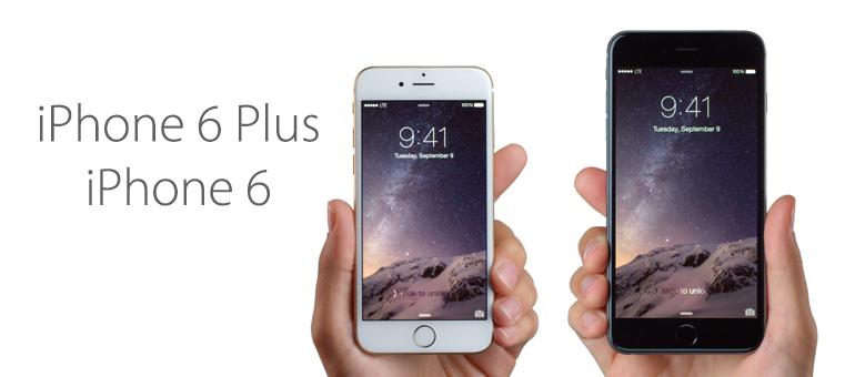 Anunciado nuevo iPhone 6 y iPhone 6 Plus para el 26 de septiembre