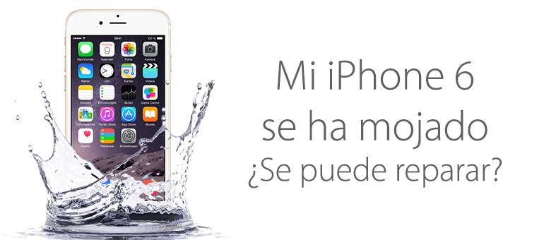 ¡Repara tu iPhone 6 mojado cuanto antes!
