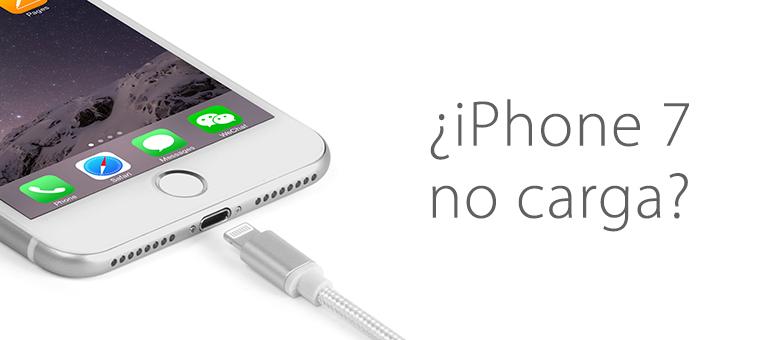 Cambiar la batería de iPhone 7 si no carga correctamente