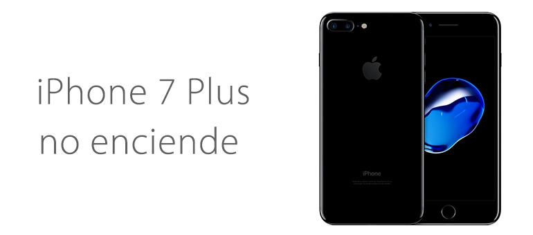 Solución para la pantalla en negro de iPhone 7 Plus