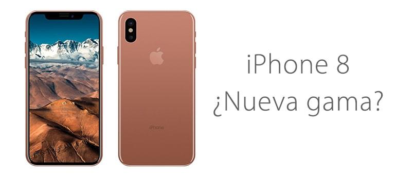 iPhone 8 blush gold, el nuevo color de iPhone