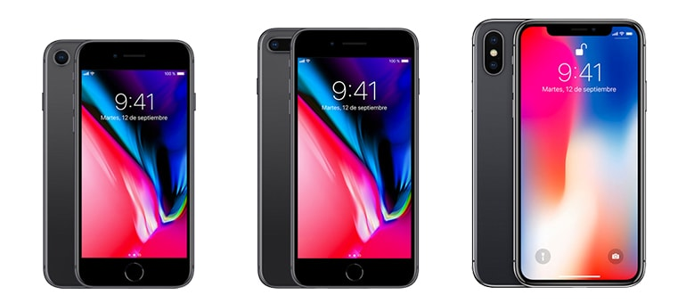 iPhone 8, iPhone 8 Plus y iPhone X son lo nuevo de Apple