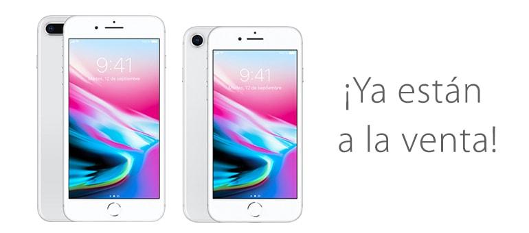 iPhone 8 y iPhone 8 Plus ya están a la venta