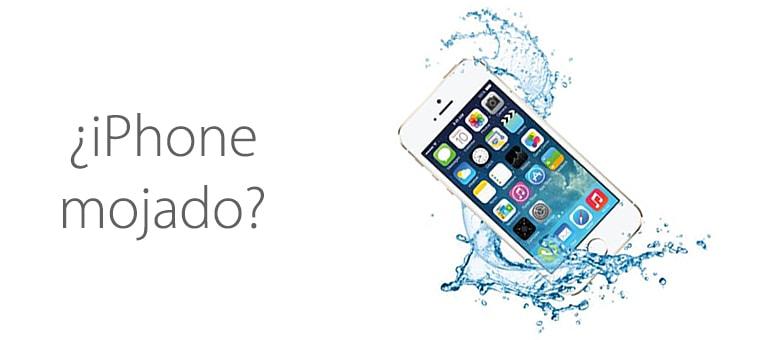 ¿Se te ha mojado el iPhone y crees que no tiene solución?
