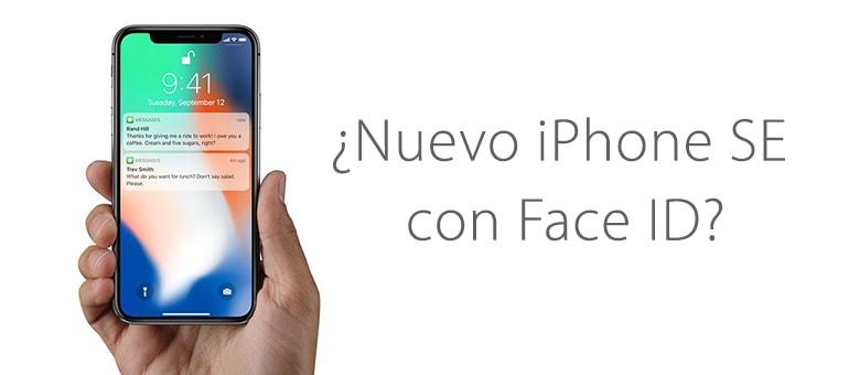 ¿Nuevo iPhone SE con la tecnología del iPhone X?