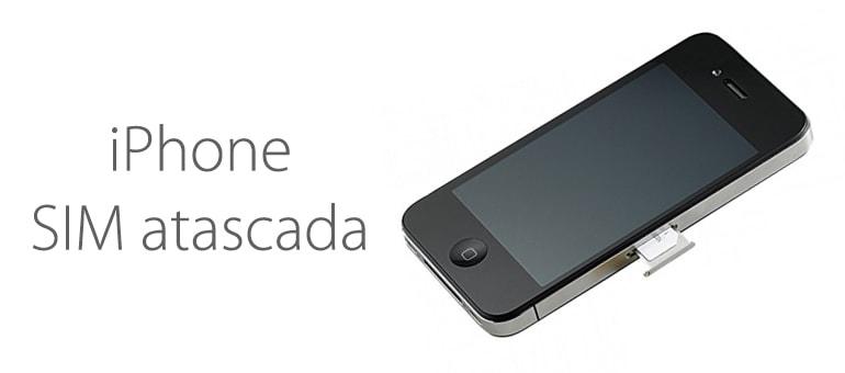 ¿SIM atascada en tu iPhone?