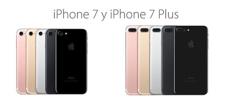 iPhone 7 y iPhone 7 Plus llegan a España