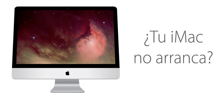 Arreglar iMac si no arranca en iFixRapid