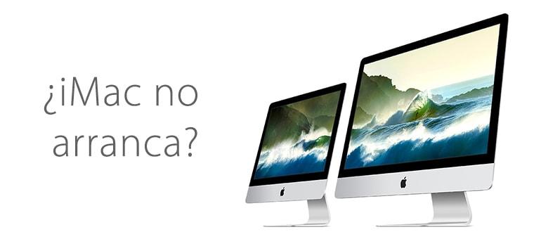 Reparar iMac si no arranca en el centro de Madrid