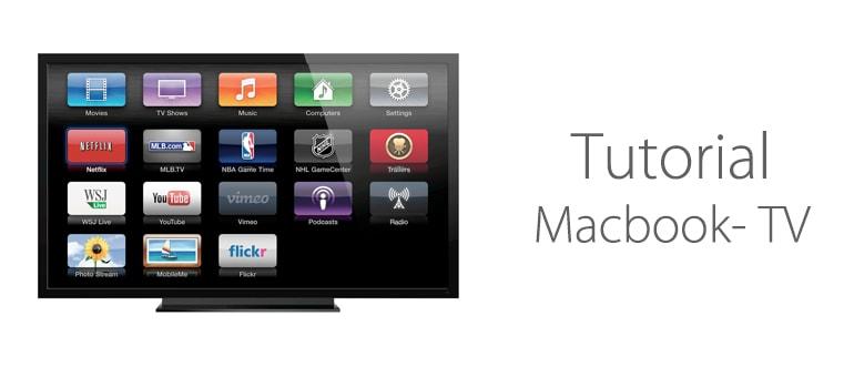 Cómo conectar Macbook Pro a TV