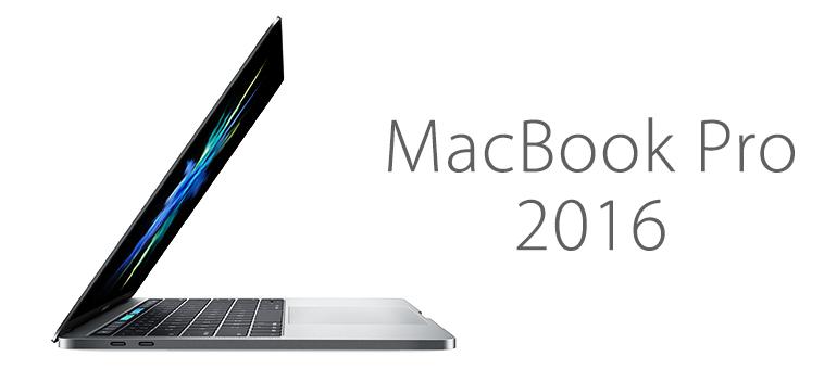 Nuevo Macbook Pro 2016 ya disponible