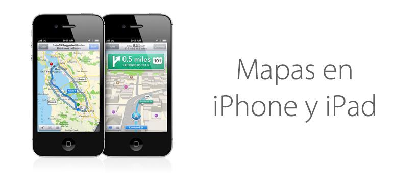 Saca provecho a todas las funciones que ofrece tu app de Mapas para iPhone.