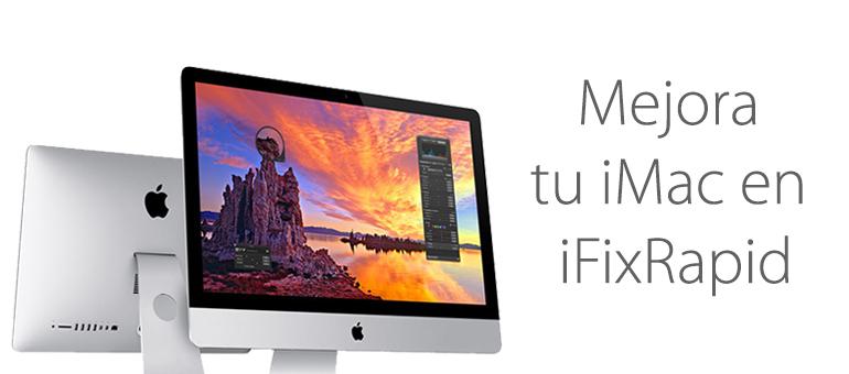 Reparar iMac si se calienta mucho y se apaga