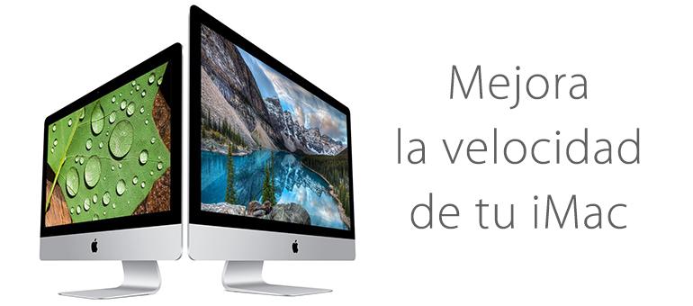 Mejora la velocidad de tu iMac con iFixRapid Servicio Técnico Apple