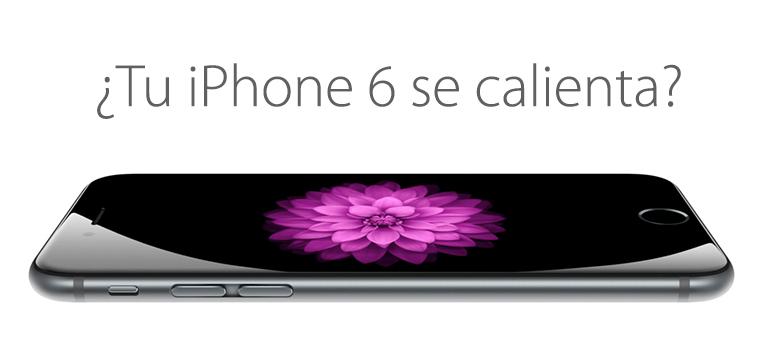 Repara tu iPhone 6si quema porque se calienta