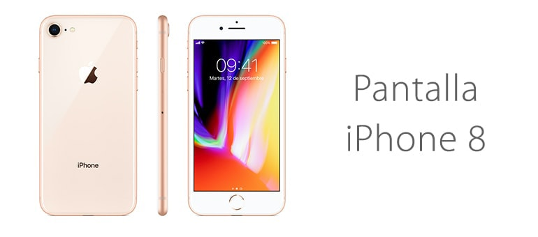 Solución para reparar la pantalla rota de iPhone 8