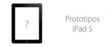Prototipo iPad 5