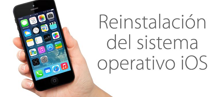 Reparar iPhone si aparece error de actualización