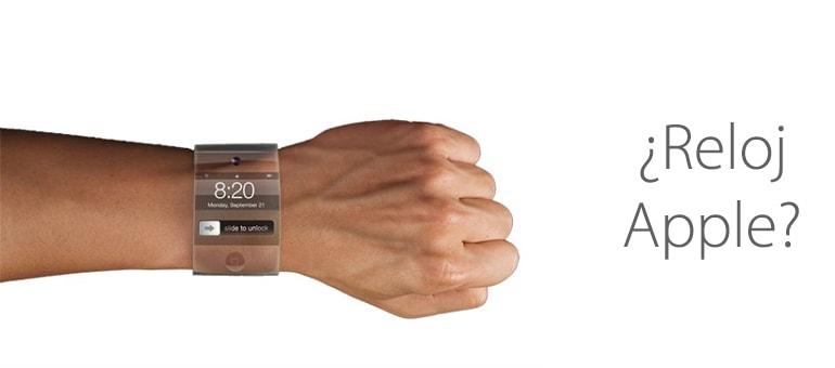 El posible reloj Apple.