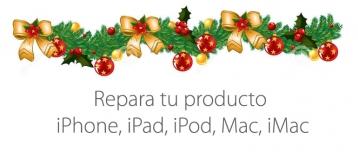 reparar apple navidad