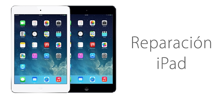 Reparar iPad Mini si no carga la batería al conectarlo