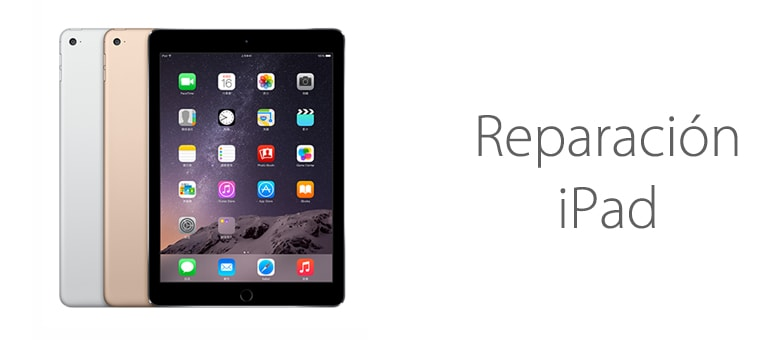 Arreglar mi iPad
