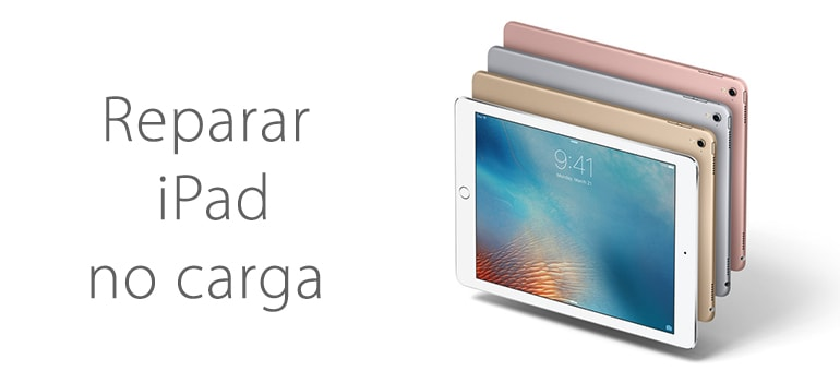 Repara tu iPad si no carga en Madrid centro