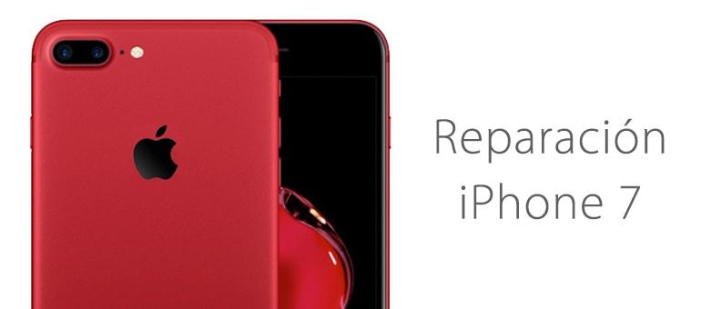 Mi iPhone 7 está mojado y no enciende ¿Se puede reparar?