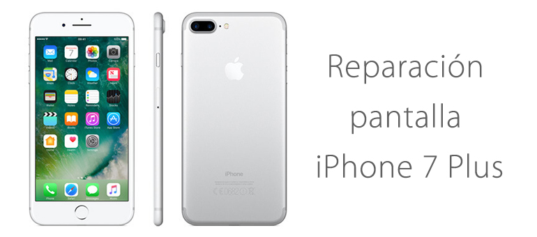 Reparación de pantalla iPhone 7 Plus si no funciona