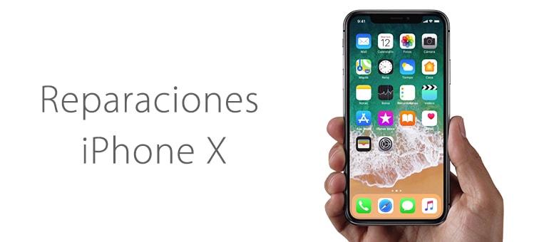 Reparar la pantalla rota de iPhone X