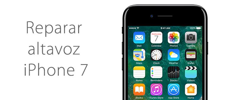 Reparar iPhone 7 si no se escucha bien cuando llaman
