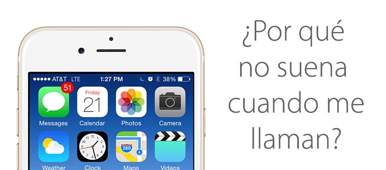 Reparar iPhone 6 si no suena cuando llaman