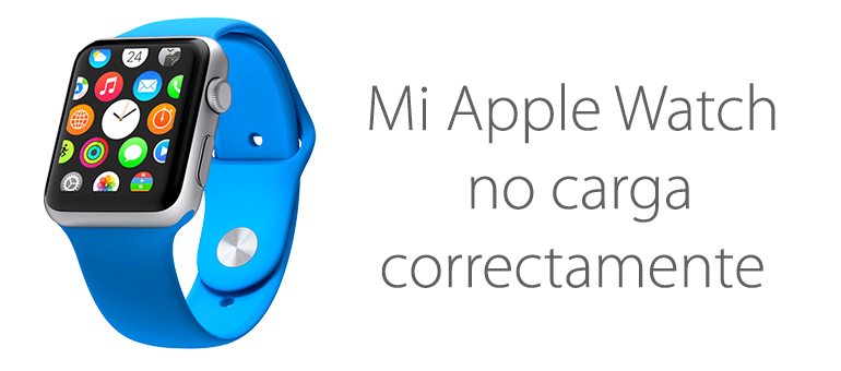 Repara tu Apple Watch si no carga la batería