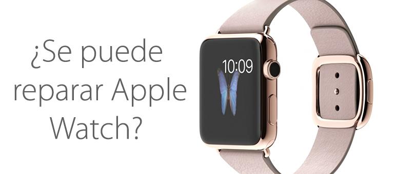 Reparar Apple Watch mojado