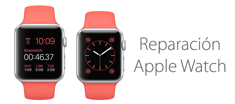 Reparar Apple Watch en Madrid