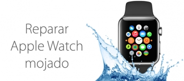reparar apple watch mojado
