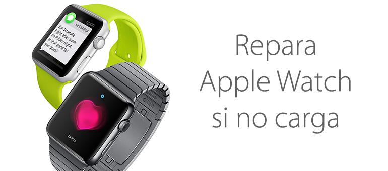 Fallo en la batería de Apple Watch si no carga