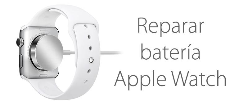 Apple Watch no carga o la batería se descarga muy rápido