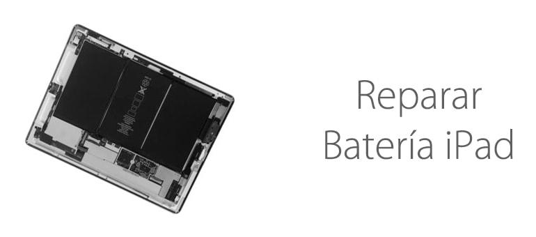 Arreglamos la batería de tu iPad