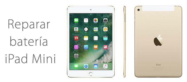 iPad Mini no carga, ¿Se puede cambiar la batería?
