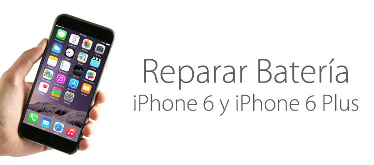 Repara ya la batería de tu iPhone 6 o iPhone 6 Plus