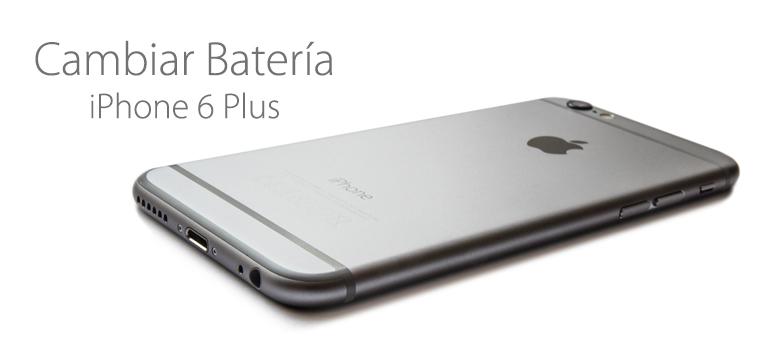 Cambiar la batería de iPhone 6 Plus