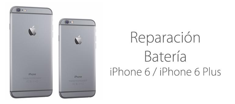 Cambiar la batería de iPhone 6 en Madrid